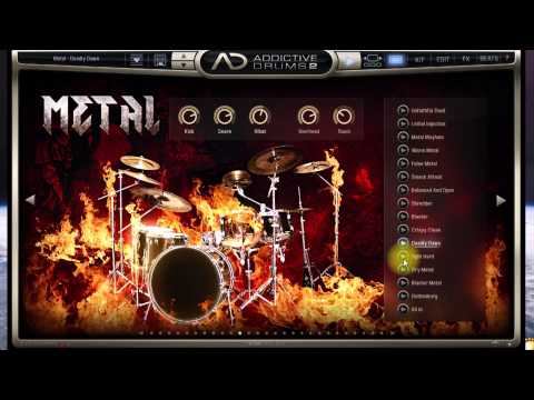 Addictive Drums 2 (демо пресетов и звуков)