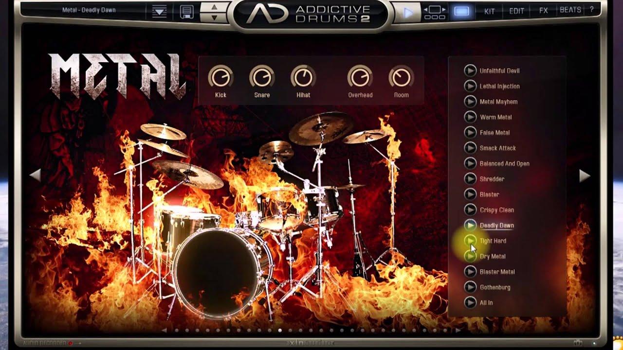 addictive drums 2 youtube. Black Bedroom Furniture Sets. Home Design Ideas