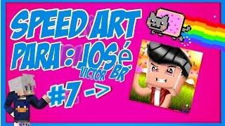 Speed Art Cartoon ♎ ABS :: Jose Victor Br (Sem Linhas)