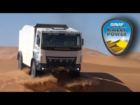 Succesvolle voorbereiding van GINAF Rally Power voor Le Dakar 2015