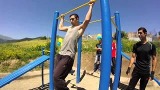 Открытие площадки в городе Дилижан(STREET WORKOUT ARMENIA)