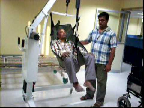 patient lifting hoist  YouTube