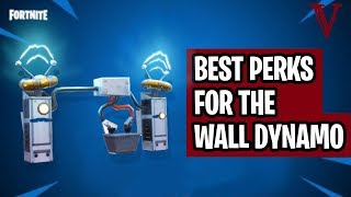 Best Wall Dynamo Perks | Fortnite Save the World | TeamVASH