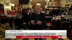 Live: Wie geht es weiter? Bundeskanzlerin Merkel stellt Corona-Fahrplan vor