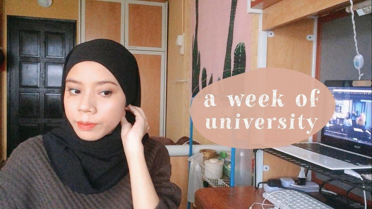 a week of university (univlog 33) // usm,penang