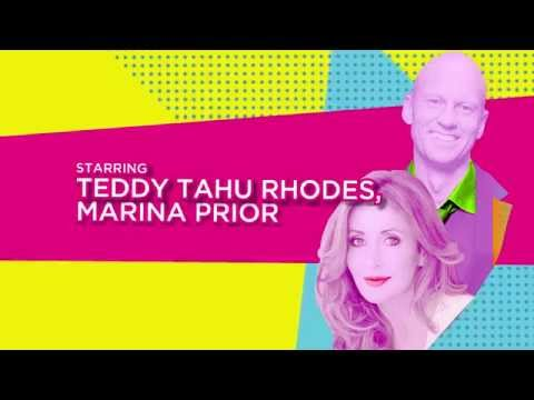 Teddy Tahu Rhodes and Marina Prior on Broadway