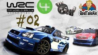 WRC 4 - Gameplay ITA - Logitech G27 - #02 Si prosegue su due ruote