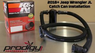 Prodigy Performance 2018+ Jeep JL Catch Can System Installation