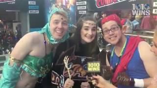 1010 WINS at New York Comic Con 2018!
