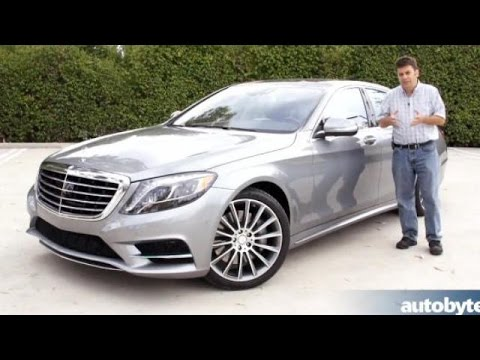 2014 Mercedes Benz S550 S Class Test Drive Video Review