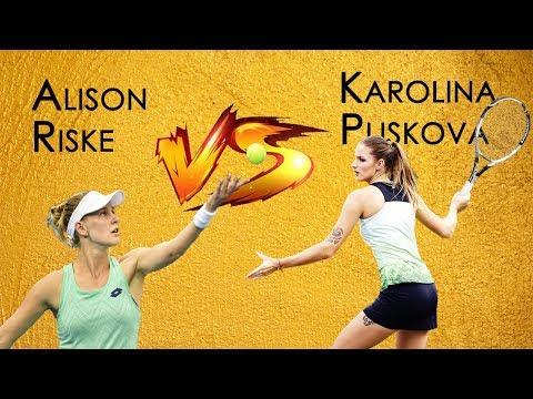 Karolina Pliskova vs Alison Riske | Third Round | Dubai | Close-up Moments