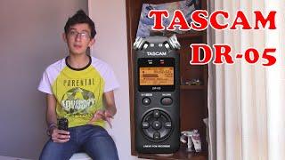 review tascam dr 05   grabadora digital   espaol