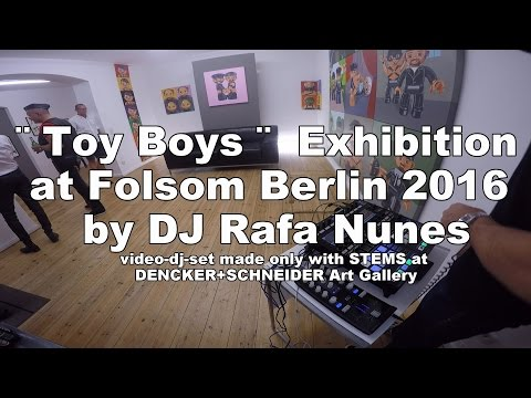 ¨Toy Boys¨ Exhibition at Folsom Berlin  2016 - STEMS tracks (Denker+Schneider Gallery)