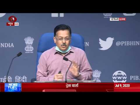 Delhi : Health Ministry briefs media over COVID-19 situation in the country