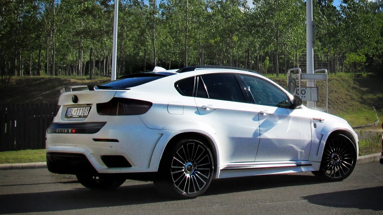 700hp Mansory X6 M Loud Accelerating V8 Sounds Youtube