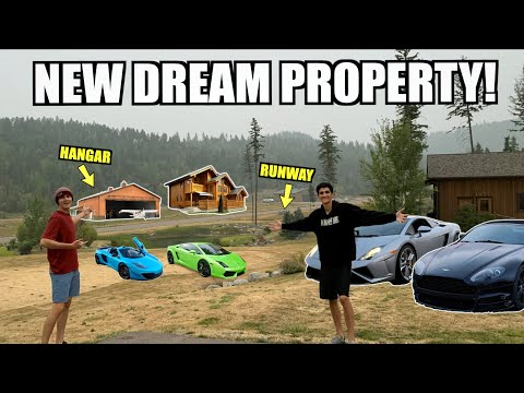 Buying Our Dream Property in Montana! With Private Runway/Dragstrip!