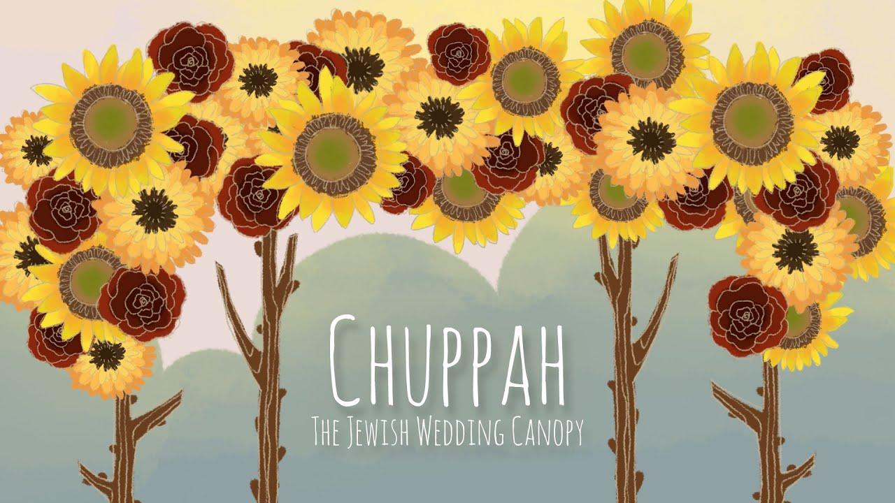 Chuppah: The Jewish Wedding Canopy - YouTube