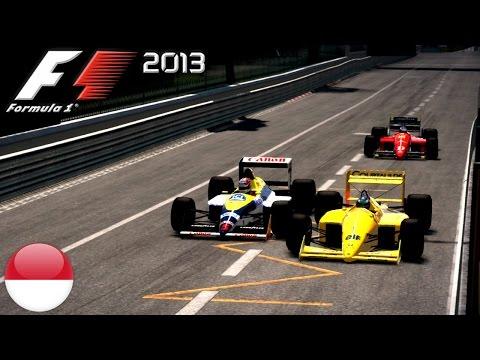 F1 2013 CLASSIC CARS: Rad an Rad Action in Monaco!