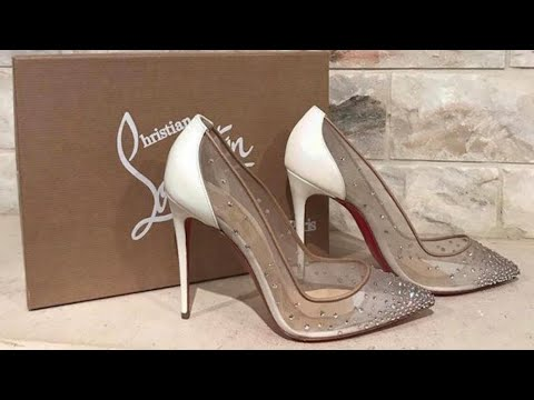 sneakers for cheap 154fc 6c8b1 Christian Louboutin Follies Strass Pumps | Unboxing, Trying On & Reviewing  My Dream Wedding Shoes
