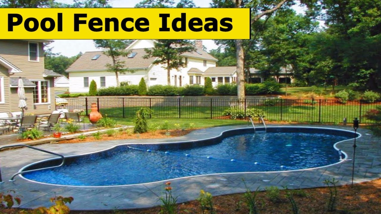 10 pool fence ideas for your backyard ideas 2017 youtube