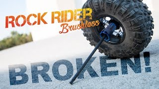 Bashing a Hopped-Up Rock Rider!