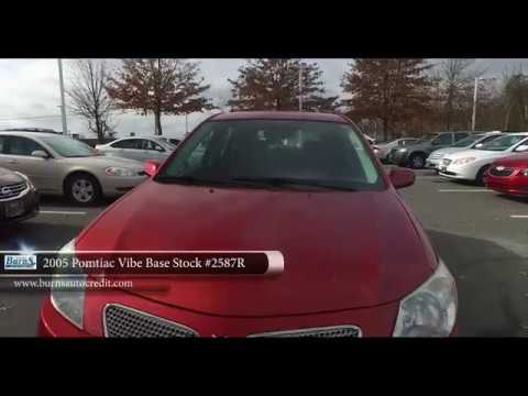 2005 Pontiac Vibe Base Stock 2587r Burns Buy Here Pay Here Youtube
