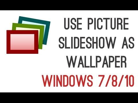how to stop slideshow on windows 10
