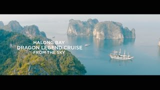 Dragon Legend Cruise | Best drone shots of Halong bay: View from sky (in 4K) thumbnail