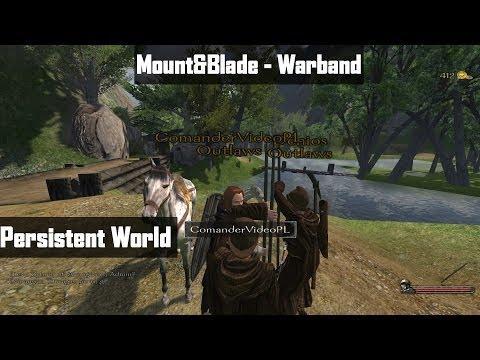 "Mount&Blade - Warband Persistent World mod v.4.4.0 # 01 ""Trudny początek!"""