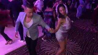 BILL ROJAS & INDIRA CUENTO SALSA DANCE AT UNIFIED ON2 CONGRESS 2019