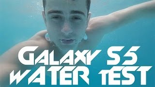 samsung galaxy s5 pool water test 4k underwater video