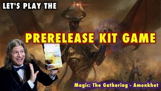 mtg lets play the prerelease kit game for amonkhet magic the gathering