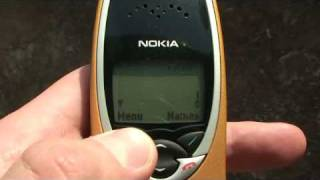 Nokia 8210 The smallest mobile phone at it