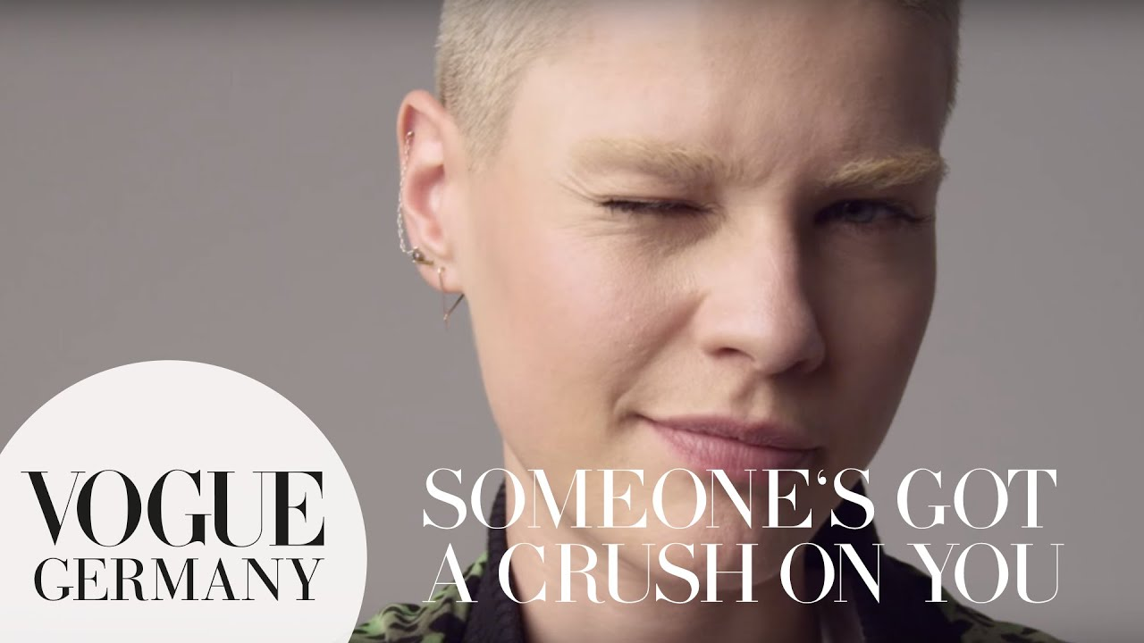 Someone's got a crush on you – A Message for you by Kris Gottschalk for VOGUE