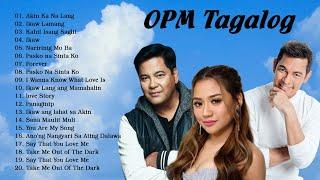 Martin Nievera, Gary Valenciano, Morissette Amon OPM Tagalog Love Songs Playlist 2021
