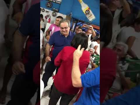 """Prefeito de Natal e governadora dançam ao som de """"Sonífera ilha"""""""