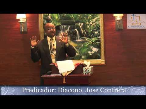 Diacono: Jose Contrera. Tema:Soportando los unos a los otros