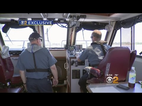 EXCLUSIVE: Marine Unit Patrols Bay