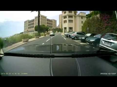 Driving in Monaco