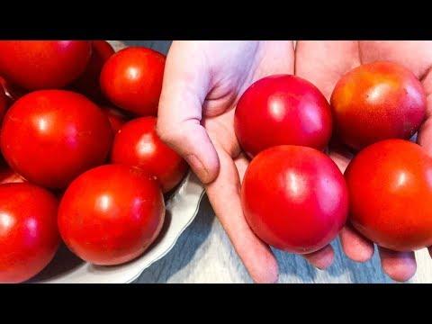 Отличный способ Хранения ПОМИДОРОВ КРУГЛЫЙ ГОД! Заморозка помидоров.