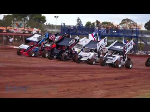 2014 NSW Sprintcar Title Heat Race Highlights  - Valvoline Raceway - Rockdog Racing Videos