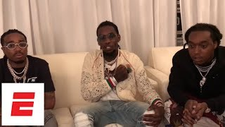 Migos seem pretty sure about what LeBron James will do this summer in free agency | ESPN