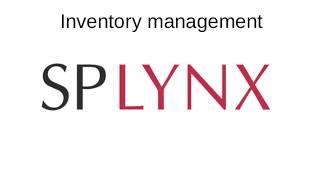 Splynx Inventory management