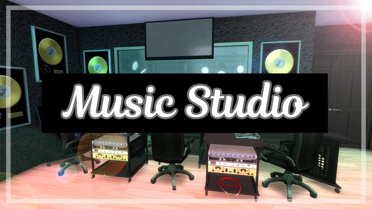 The Sims 4 Room Build Music Studio