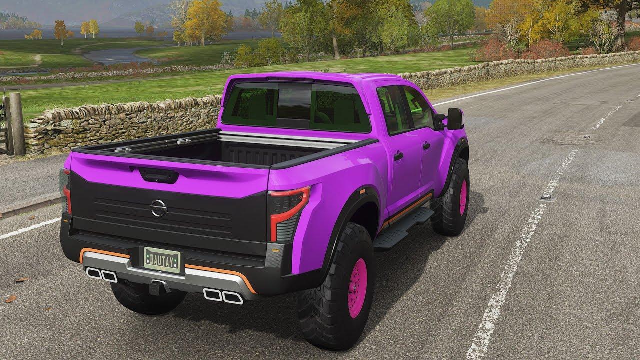 Nissan Titan Warrior Concept - Forza Horizon 4 ps4 controller pc - fh4 gameplay