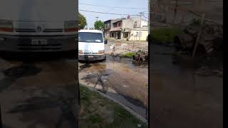 Santa Fe: el socavón de barrio Los Hornos