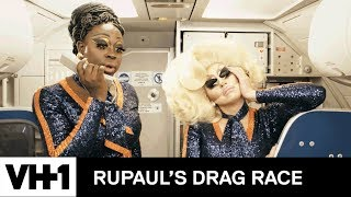 JetBlue Inflight Announcement with Bob the Drag Queen and Trixie Mattel