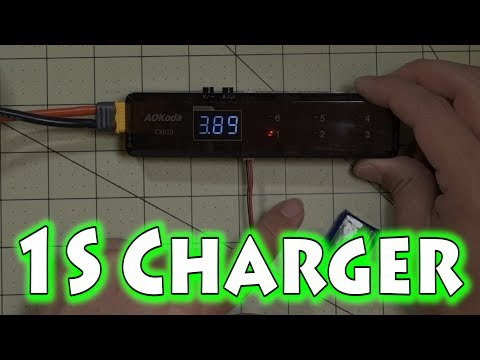 High Voltage (HV) LiPo Battery Charging with the AOKoda
