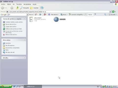 tutorial como validar windows xp no original 01:43 Mins | Visto 8306 ...