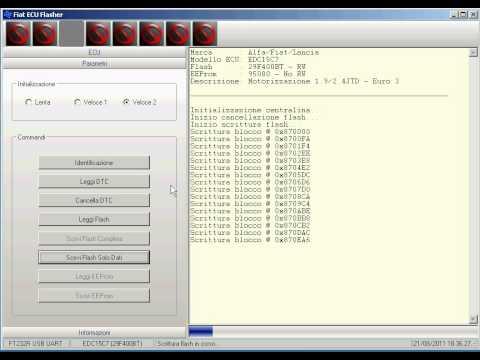 MTX Electronics Fiat ECU Flasher - Scrittura mappatura via OBD